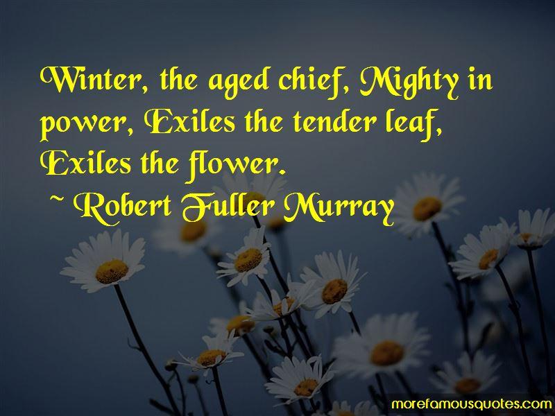 Robert Fuller Murray Quotes