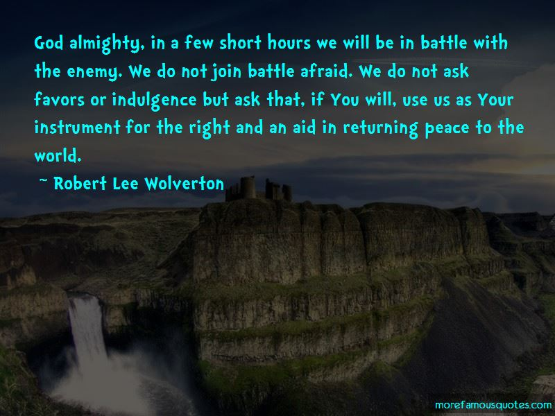 Robert Lee Wolverton Quotes Pictures 2