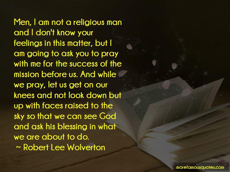 Robert Lee Wolverton Quotes