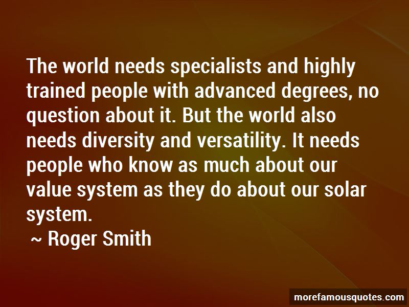 Roger Smith Quotes