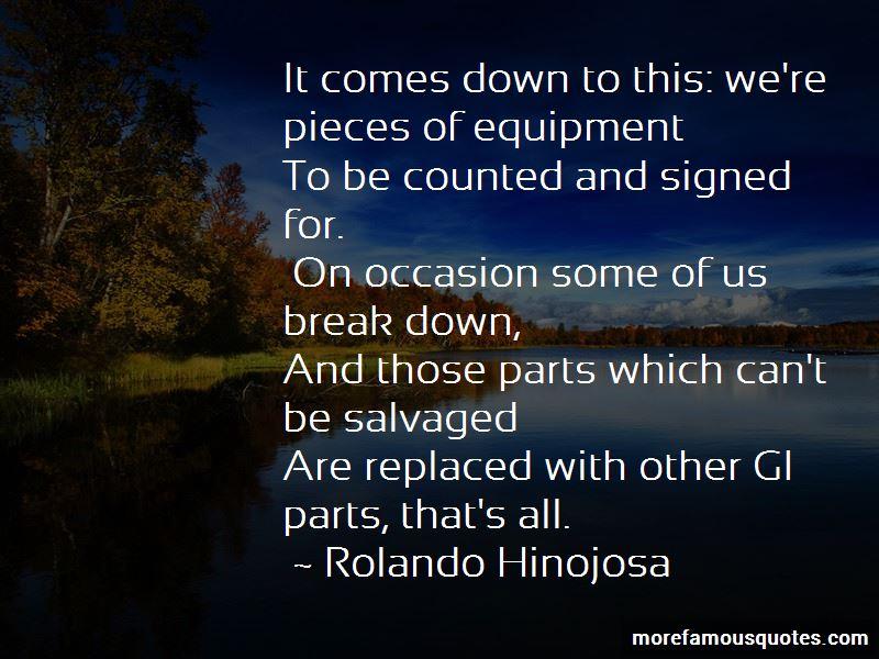 Rolando Hinojosa Quotes