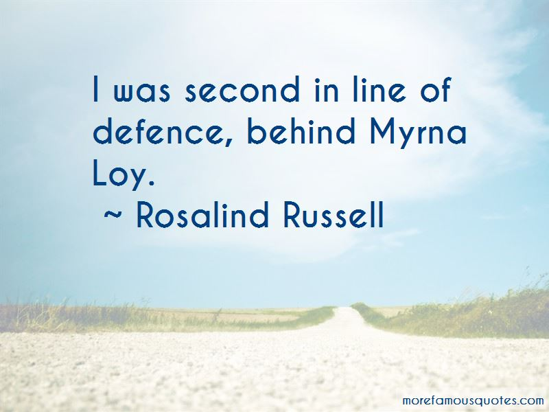 Rosalind Russell Quotes Pictures 2