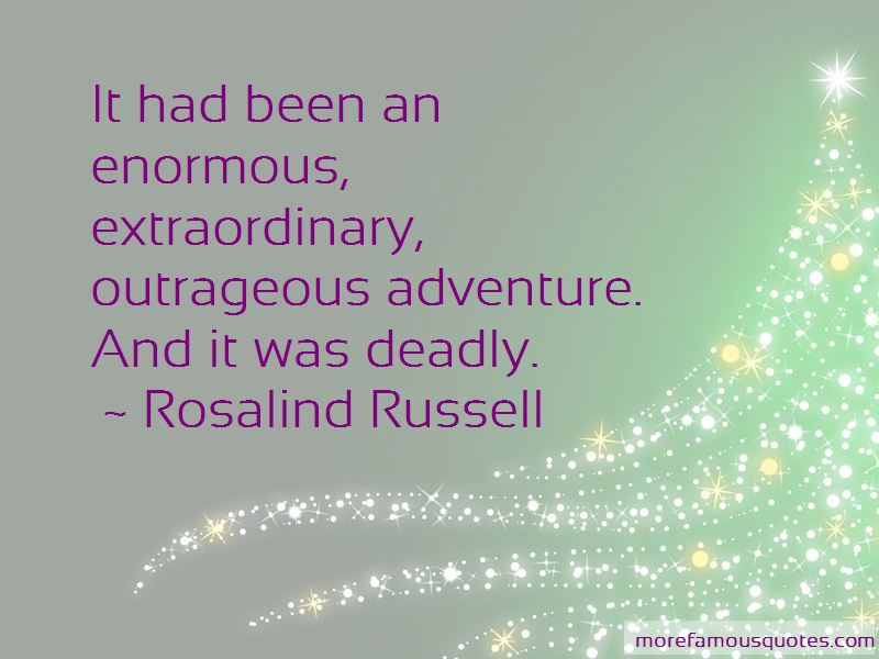 Rosalind Russell Quotes