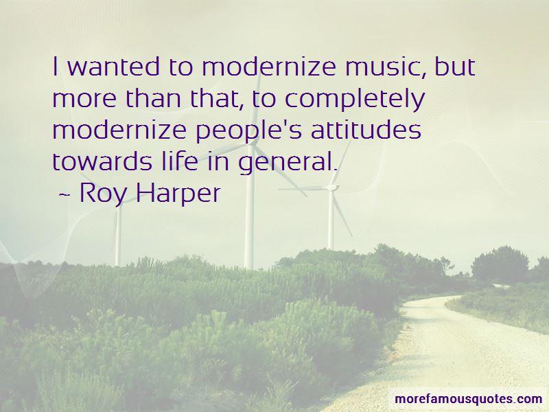 Roy Harper Quotes