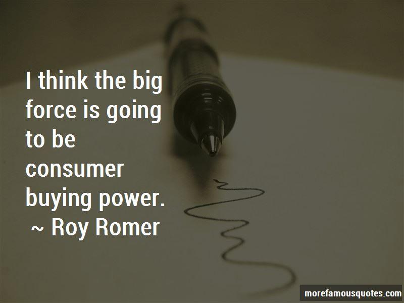 Roy Romer Quotes