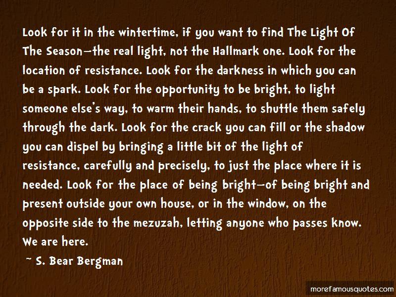 S. Bear Bergman Quotes Pictures 2