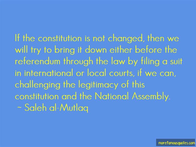 Saleh Al-Mutlaq Quotes