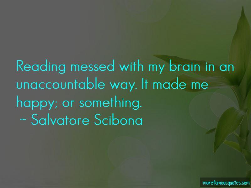 Salvatore Scibona Quotes