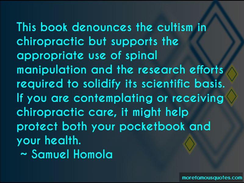 Samuel Homola Quotes