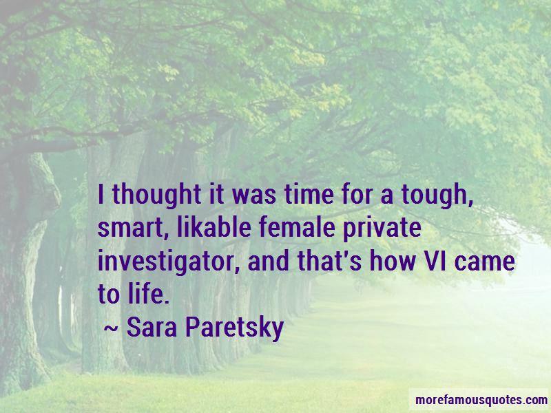 Sara Paretsky Quotes Pictures 2