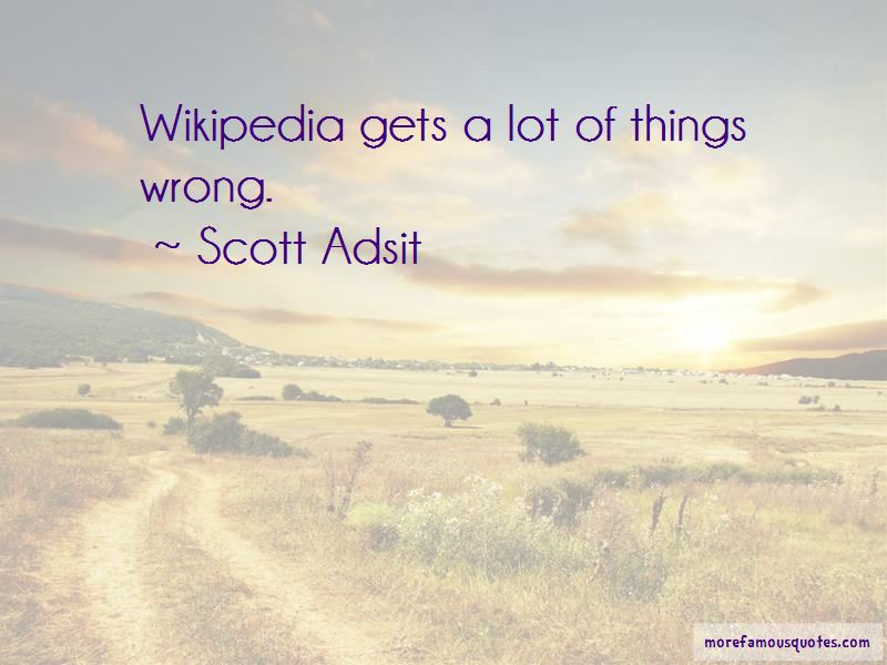 Scott Adsit Quotes