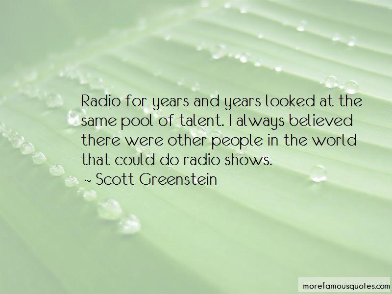 Scott Greenstein Quotes Pictures 2