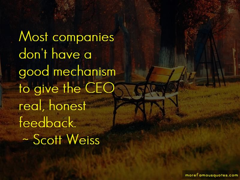 Scott Weiss Quotes