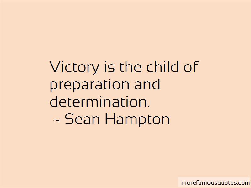Sean Hampton Quotes