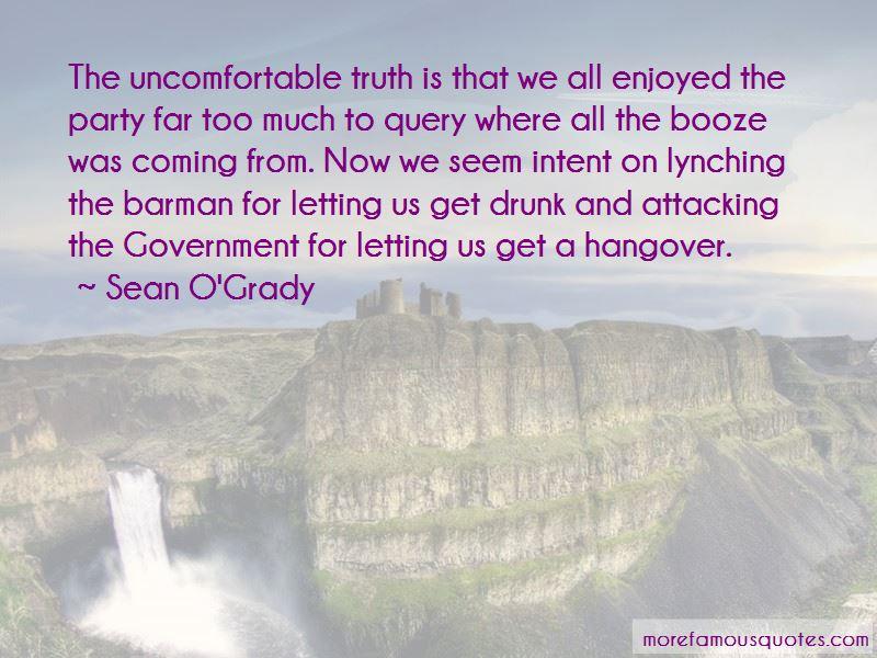 Sean O'Grady Quotes