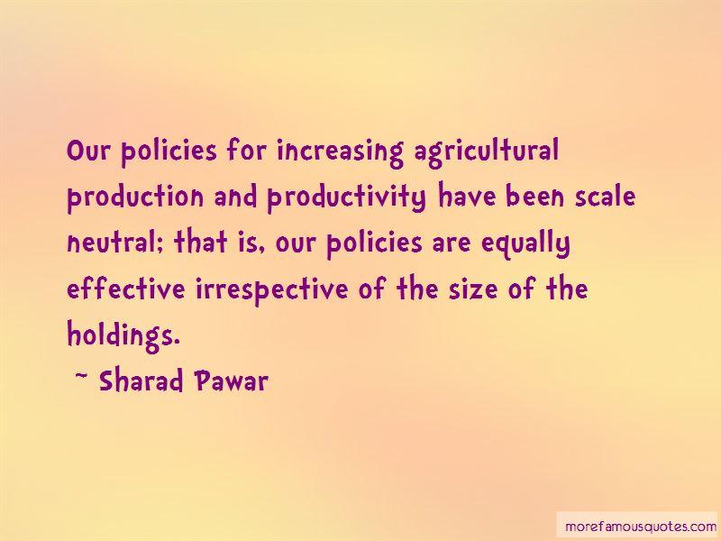 Sharad Pawar Quotes