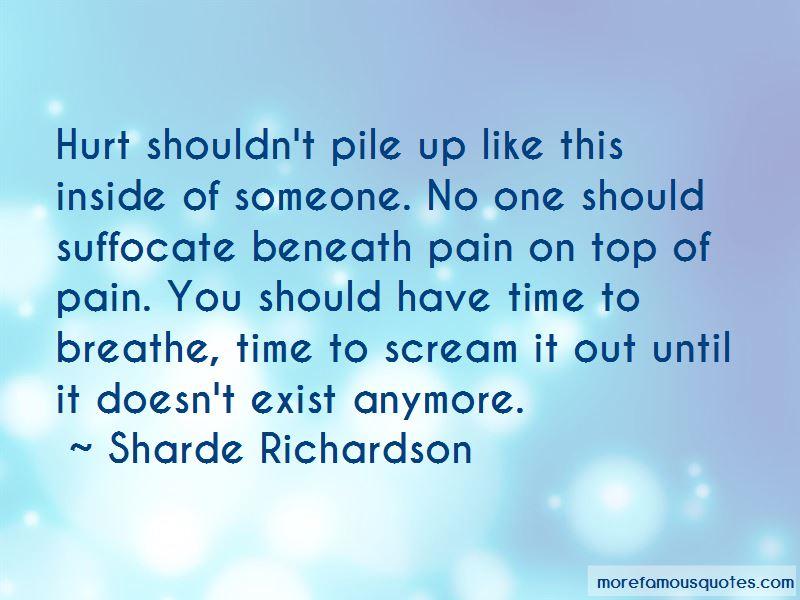 Sharde Richardson Quotes