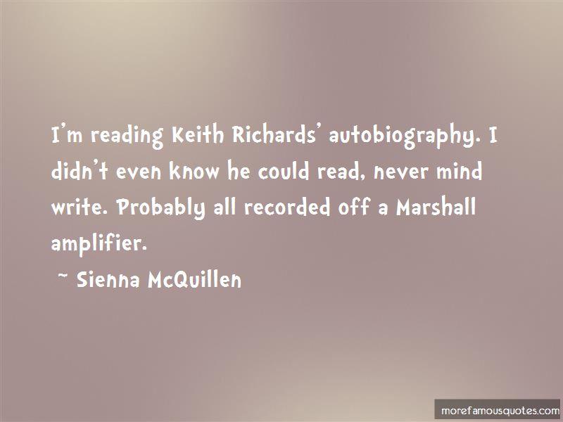 Sienna McQuillen Quotes Pictures 2