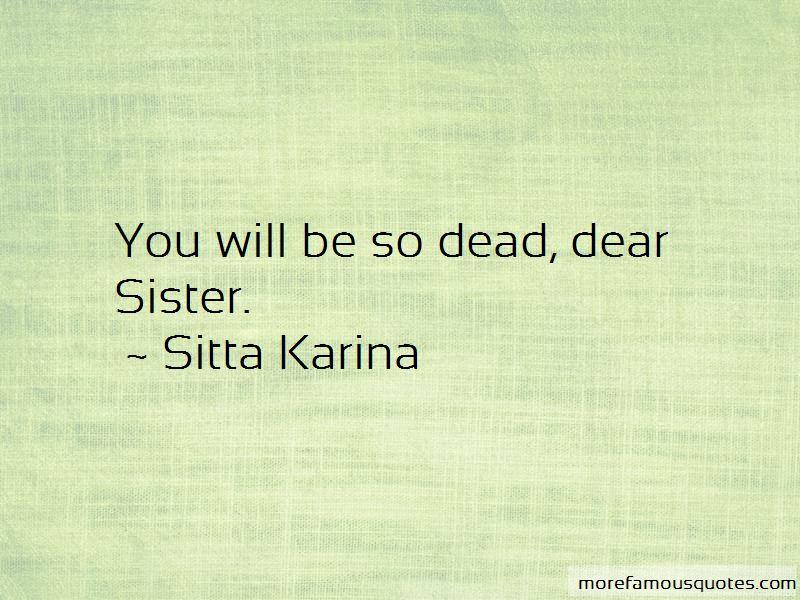Sitta Karina Quotes Pictures 2