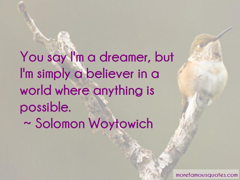 Solomon Woytowich Quotes Pictures 2