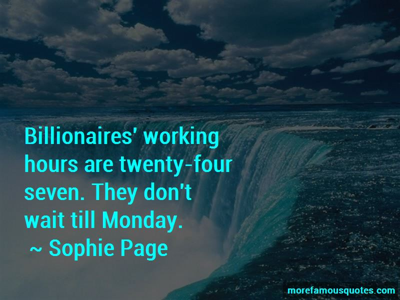 Sophie Page Quotes