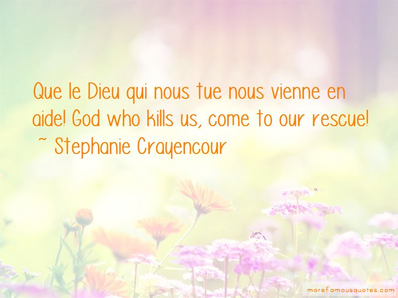 Stephanie Crayencour Quotes Pictures 4