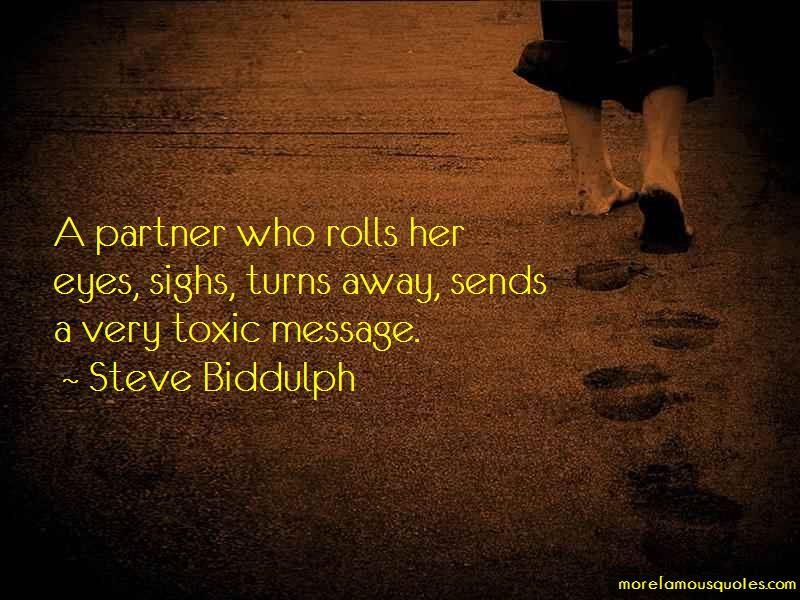 Steve Biddulph Quotes