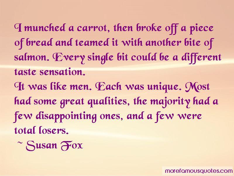 Susan Fox Quotes