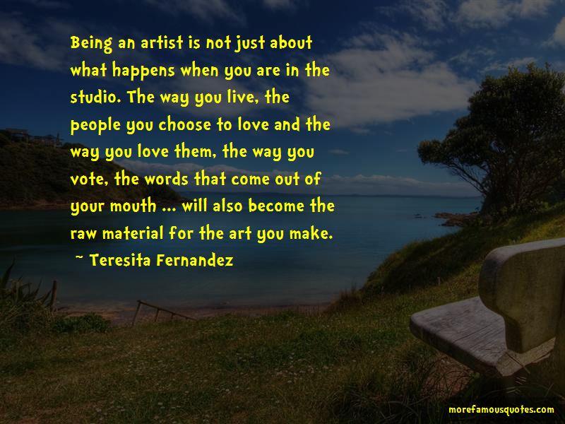 Teresita Fernandez Quotes Pictures 2