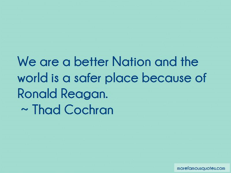 Thad Cochran Quotes Pictures 3