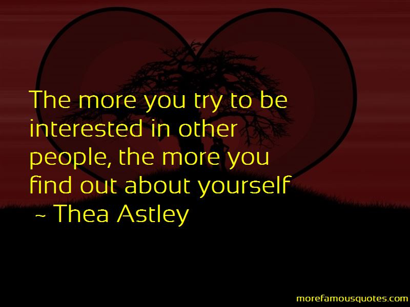 Thea Astley Quotes Pictures 2
