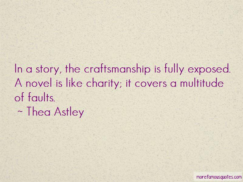 Thea Astley Quotes