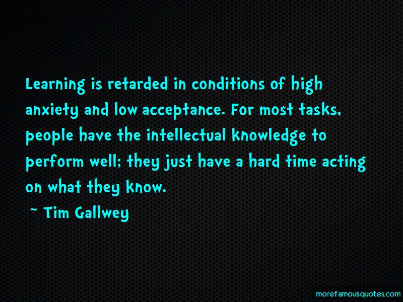 Tim Gallwey Quotes