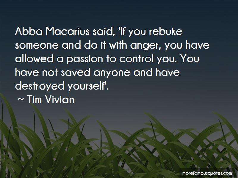 Tim Vivian Quotes