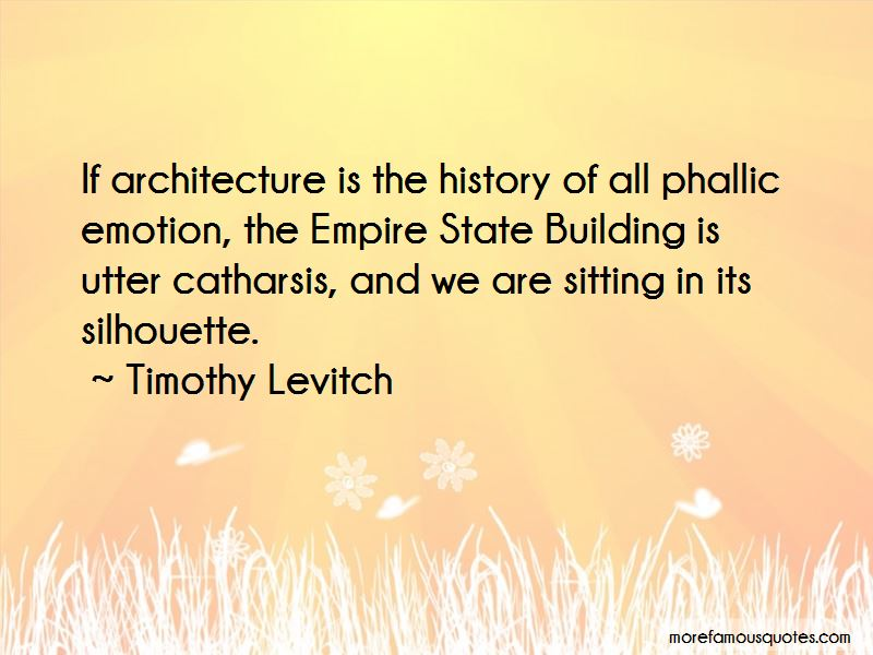 Timothy Levitch Quotes