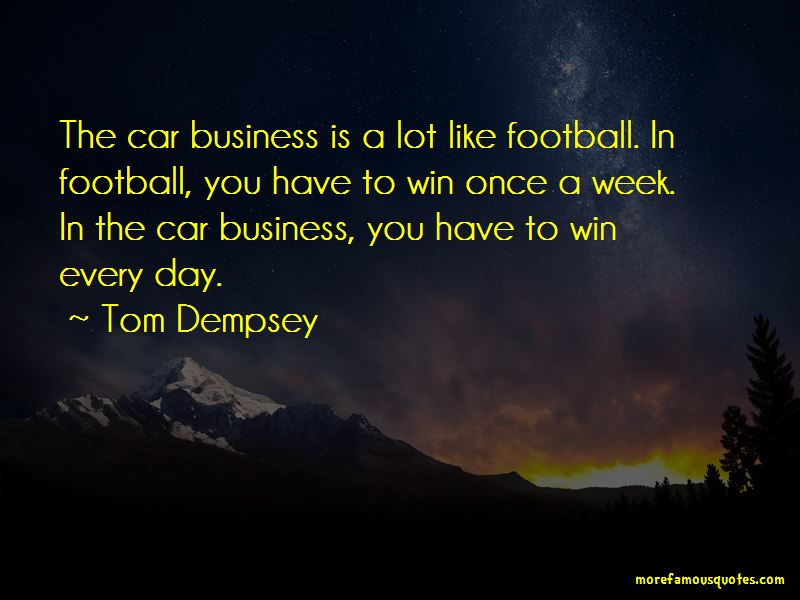 Tom Dempsey Quotes Pictures 2