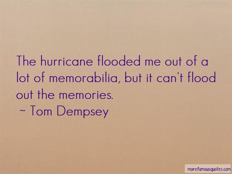 Tom Dempsey Quotes