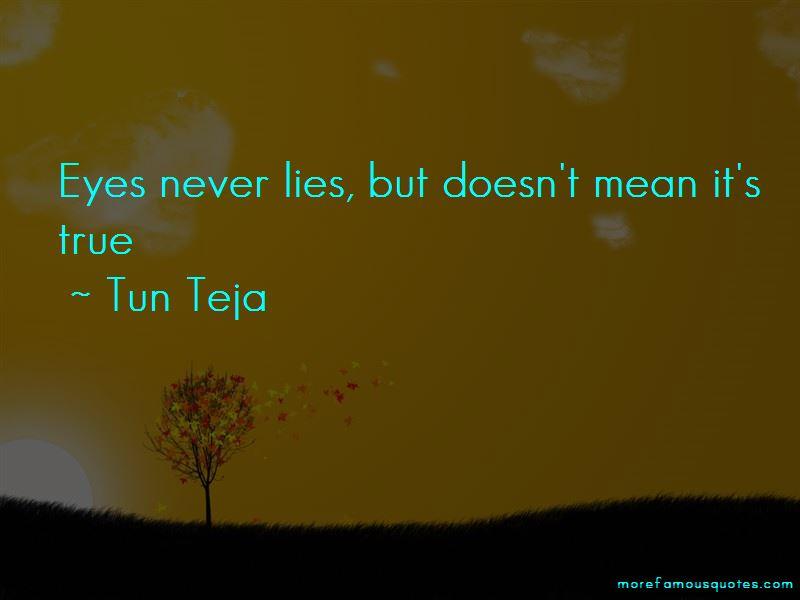 Tun Teja Quotes Pictures 2