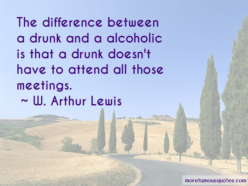 W. Arthur Lewis Quotes