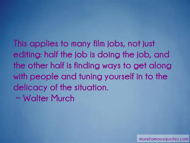 Walter Murch Quotes Pictures 3
