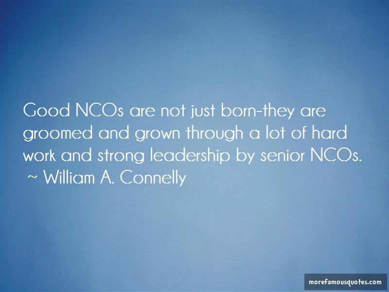 William A. Connelly Quotes