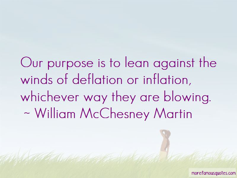 William McChesney Martin Quotes