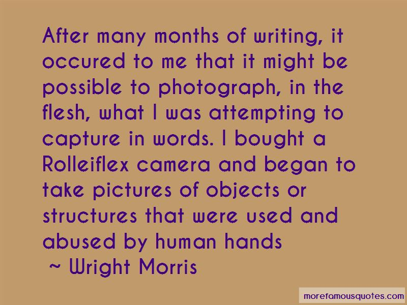 Wright Morris Quotes Pictures 2