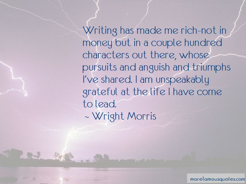 Wright Morris Quotes Pictures 4