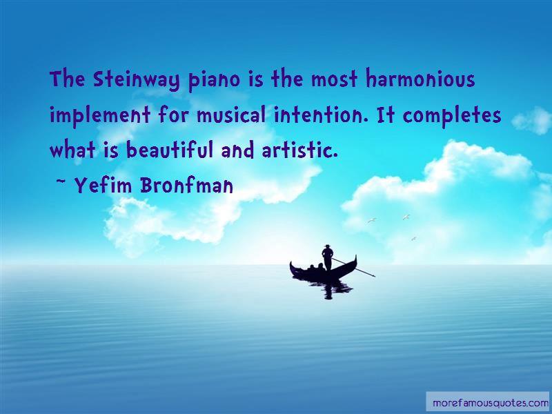 Yefim Bronfman Quotes