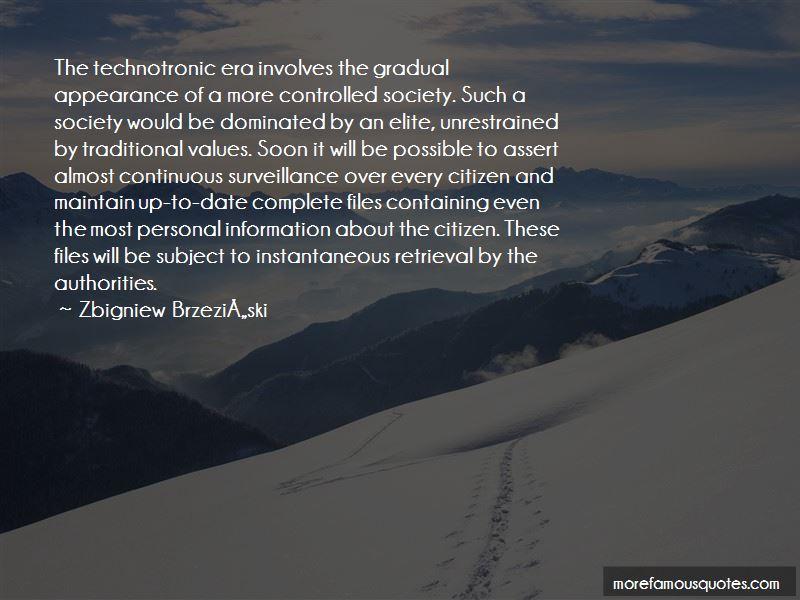 Zbigniew Brzeziski Quotes