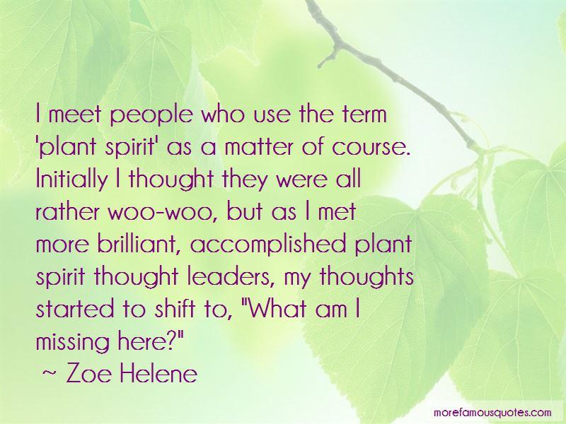 Zoe Helene Quotes Pictures 2