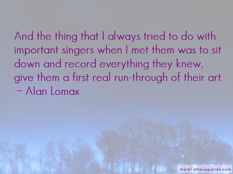 Alan Lomax Quotes Pictures 4