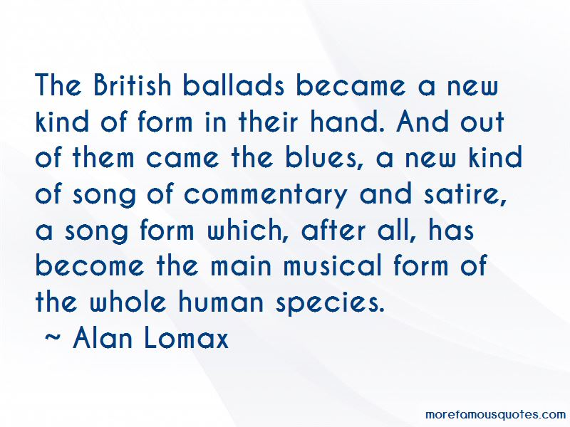 Alan Lomax Quotes