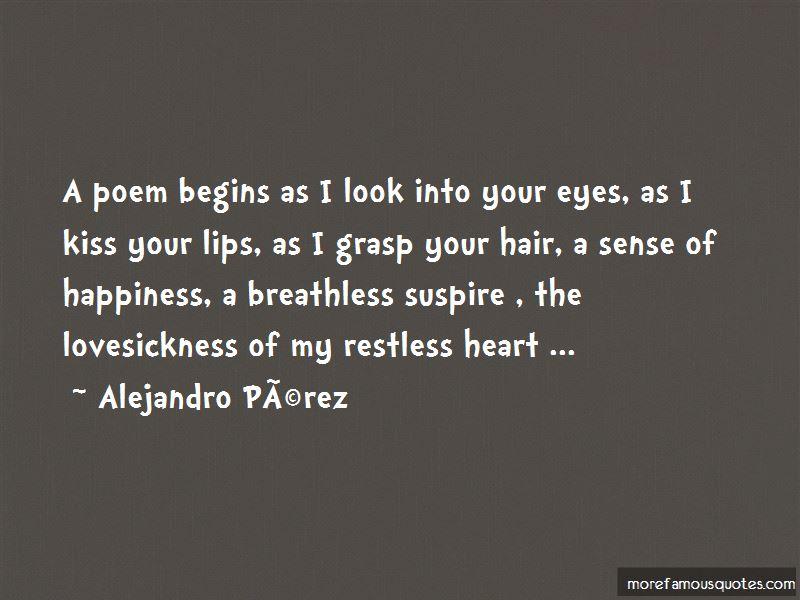 Alejandro Perez Quotes